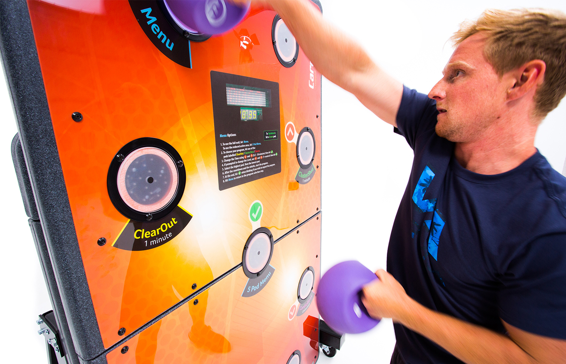 Fun and motivational fitness equipment for all abilities